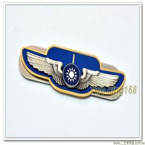 空軍士官督導長胸章-少尉(立體銅質) ★士官督導長徽 ★督導長榮譽徽【bf12-9】
