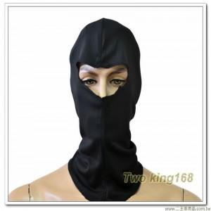 黑色頭套(排汗材質)
