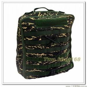 海軍陸戰隊數位虎斑數位迷彩戰術一日突擊背包(防水尼龍) ★戰鬥個裝