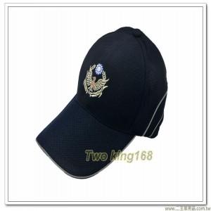 義交警鴿排汗帽(帽簷一般型9.5公分)(帽簷側邊反光條)【1-4-3】