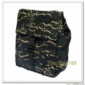海軍陸戰隊數位虎斑迷彩T3-75防護面具攜行袋 ★戰鬥個裝 ★防毒面具袋