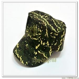 海軍陸戰隊數位虎斑迷彩八角帽(電繡版)
