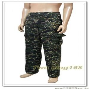 海軍陸戰隊迷彩工作褲(腰部鬆緊帶)