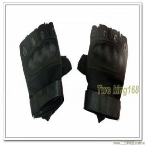 國軍半指戰術手套(黑色) ★戰鬥個裝