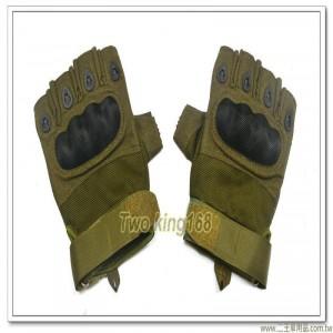 國軍半指戰術手套(綠色) ★戰鬥個裝
