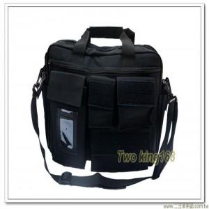 超輕型黑色參謀袋 ★戰地記者包