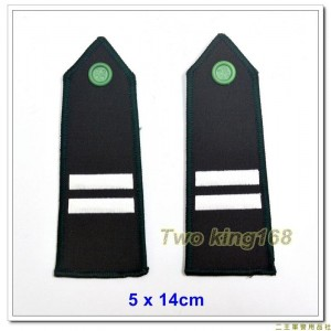陸軍官校學生肩章-二年級 ★年級肩章 ★陸軍肩章 ★陸官肩章