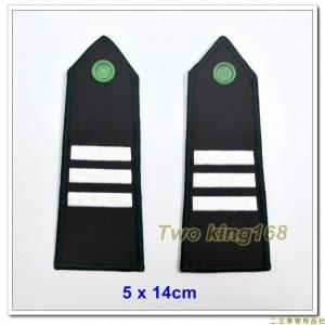陸軍官校學生肩章-三年級 ★年級肩章 ★陸軍肩章 ★陸官肩章