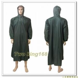 國軍綠色披風式雨衣(連身式)(小飛俠)