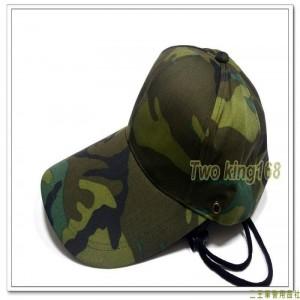 大迷彩遮陽帽(可蓋住頸部)(可拆式遮陽布)