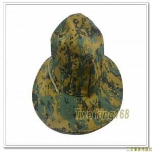 叢林數位迷彩擴邊帽(純棉)