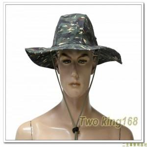 海軍陸戰隊虎斑迷彩擴邊帽(加大帽簷)(聚酯纖維材質)