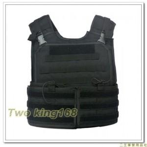 (新式)戰鬥個裝戰術背心-黑色(不含防彈片)防彈背心外襯套
