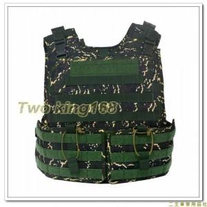 (新式)戰鬥個裝戰術背心-海陸數位虎斑迷彩(不含防彈片)防彈背心外襯套