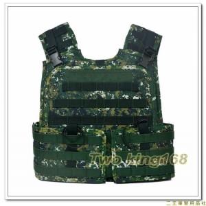 (新式)戰鬥個裝戰術背心-國軍數位迷彩(不含防彈片)防彈背心外襯套