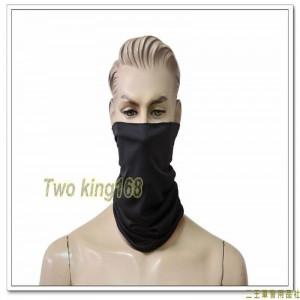 黑色魔術領巾(頭巾)(夏季排汗)
