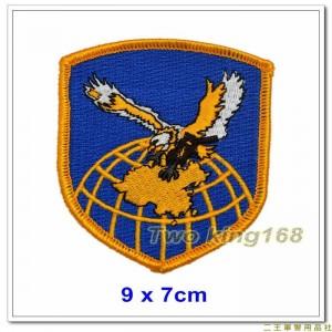陸軍117旅臂章(海鵬部隊)(盾形)(新式)(明視度)(不含氈)★步兵117師【12-7-1】