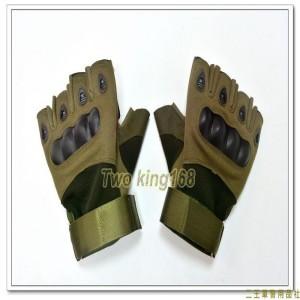輕量型半指戰術手套(綠色) ★戰鬥個裝