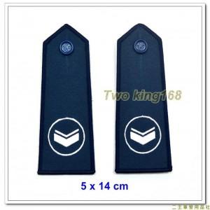 民國70年代早期空軍軍便服肩章(下士)(有圓圈) ★早期空軍階級肩章