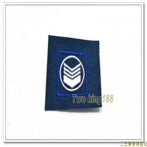 民國70年代早期空軍領章(上士)(有圓圈) ★早期空軍階級領章