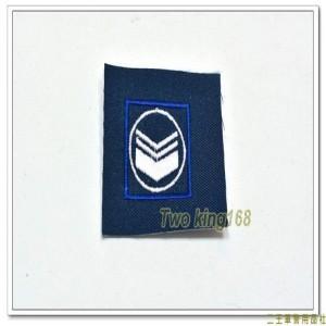 民國70年代早期空軍領章(中士)(有圓圈) ★早期空軍階級領章