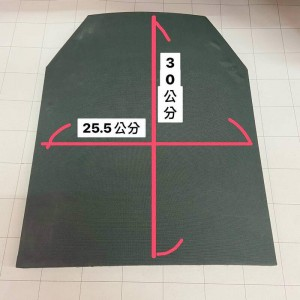 防爆超輕量NIJ III級抗彈協防板(客製品)(付款後方可訂製)★防彈背心抗彈板★戰術背心抗彈板