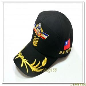 陸軍士官學校紀念帽(金蔥繡線)(國旗+字)(硬式排汗透氣帽) ★一等長士校帽 ★陸軍專科學校