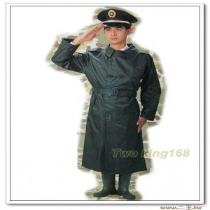 ★陸軍軍綠色軍官雨衣-軍用雨衣-軍士官專用雨衣 大衣 風衣 軍裝 軍服