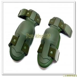 綠色戰術護肘組(2個)(制式公發) ★戰鬥個裝