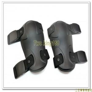 黑色戰術護膝組(2個)(制式公發) ★戰鬥個裝