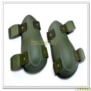 綠色戰術護膝組(2個)(制式公發) ★戰鬥個裝