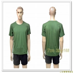 國軍軍綠色涼感排汗衣(J)