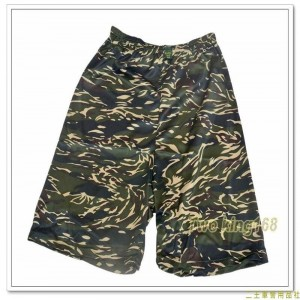 海軍陸戰隊虎斑迷彩童裝排汗短褲(J) ★兒童迷彩裝