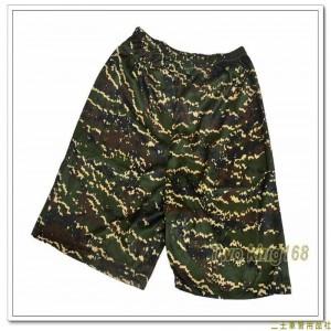 海軍陸戰隊數位虎斑迷彩童裝排汗短褲(J) ★兒童迷彩裝