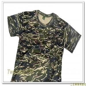 海軍陸戰隊虎斑迷彩童裝排汗T恤(J) ★兒童迷彩裝