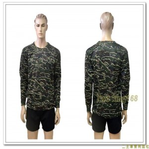 海軍陸戰隊數位虎斑迷彩吸濕排汗長袖內衣(J)