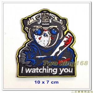 13號殺人魔傑森Q版臂章(含氈) ★特勤部隊臂章
