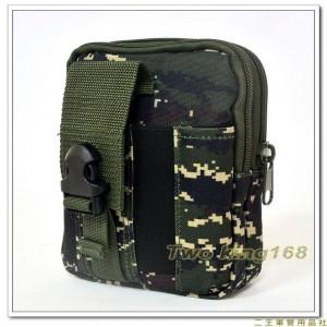海軍陸戰隊數位虎斑迷彩多功能手機腰包 ★戰術腰包 ★迷彩腰包 ★運動腰包