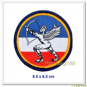 早期空軍防空砲兵司令部臂章(小)(民國41~80年) ★空軍防砲警衛臂章 ★空軍臂章12-3-2