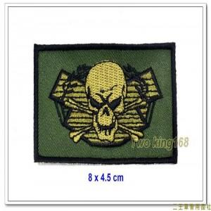 海軍陸戰隊兩棲偵搜部隊蛙兵胸章(兇悍版)(不含氈)【M3-4】