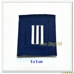 民國70年代早期空軍領章(上尉)(無圓圈) ★早期空軍階級領章
