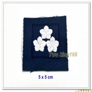 民國70年代早期空軍領章(上校)(無圓圈) ★早期空軍階級領章