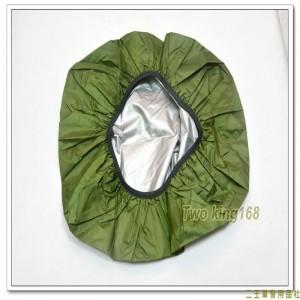 板凳背包防水套(素面綠色)(45L)