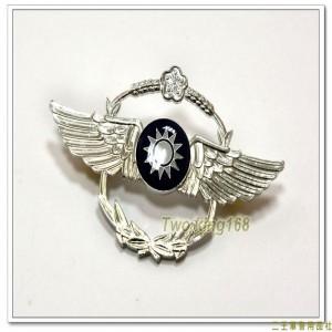 空軍儀隊徽(8x5公分)(制式有波麗)【bg1-11-1】